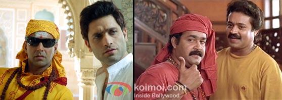 Bhool Bhulaiyaa – remake of Manichitratazhu (Malayalam)