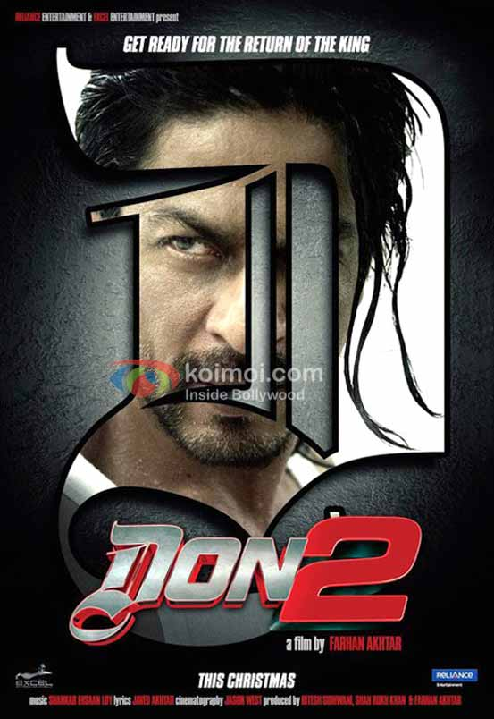 Shah Rukh Khan in the first look of Don 2.