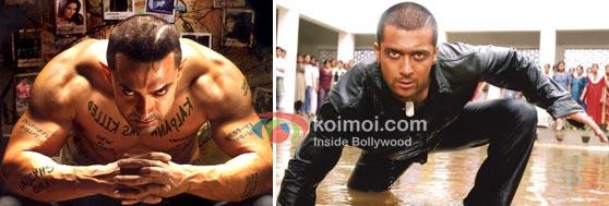 Ghajini – remake of Ghajini (Tamil)