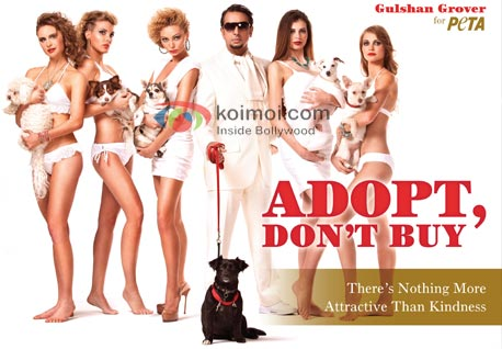 Gulshan Grover Urges People To Adopt Dogs PETA