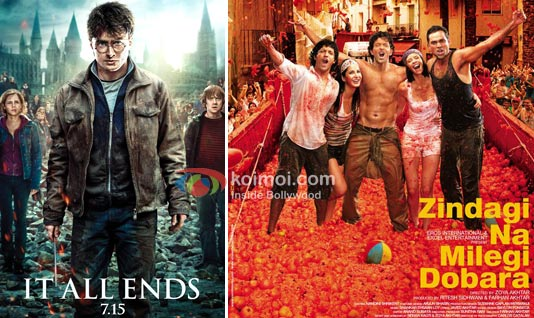 Will Harry Potter Be Strong Opposition For Zindagi Na Milegi Dobara?