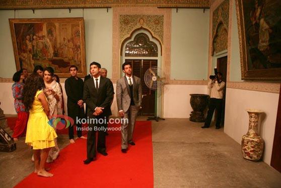 Zoya Akthar, Katrina Kaif, Ritesh Sidhwani, Farhan Akhtar, Hrithik Roshan