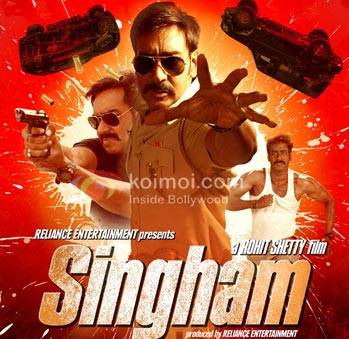 Poster of Singham