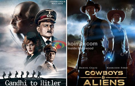 Posters of Gandhi To Hitler and Cowboys & Aliens