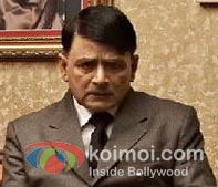 Raghubir Yadav as Hitler in a still from 'Gandhi To Hitler'