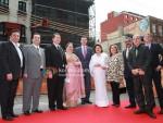 Rishi Kapoor, Rajiv Kapoor, Randhir Kapoor, Krishna Raj, Reema Jain, Manoj Jai, Anupam Kher At IIFA