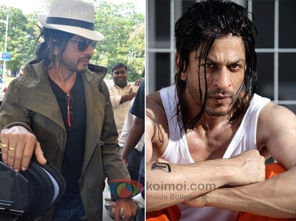 Shah Rukh Khan Moustache Man