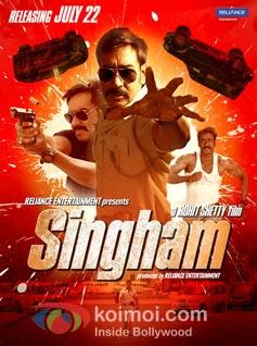 Singham Preview (Singham Poster)