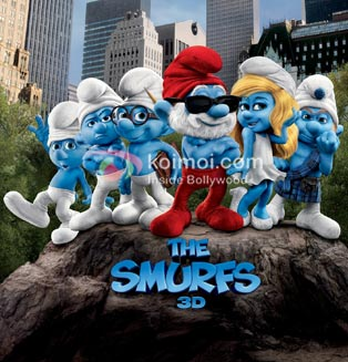 The Smurfs Review (The Smurfs Movie Poster)