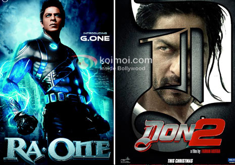 123 SRK Ra.One, Don 2 Now In 3D