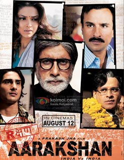 Aarakshan Review (Aarakshan Poster)