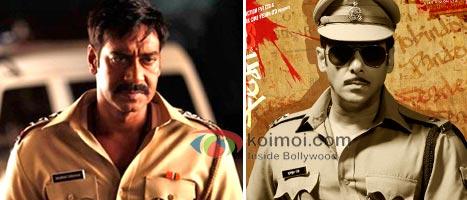 Ajay Devgan in Singham & Salman Khan in Dabangg.