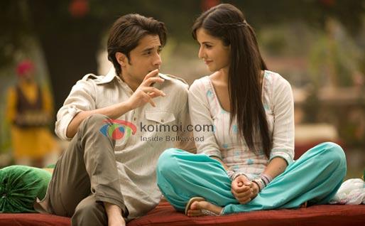 Ali Zafar, Katrina Kaif (Mere Brother Ki Dulhan Movie Stills)