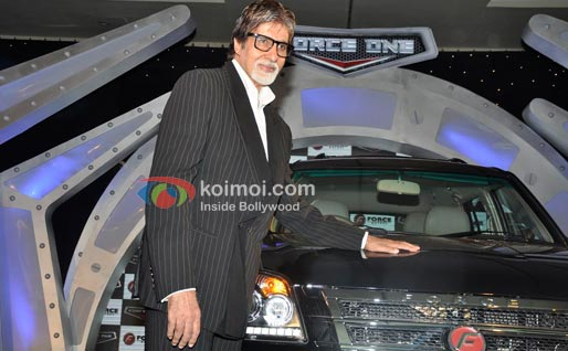 Amitabh Bachchan At Launch of Force One