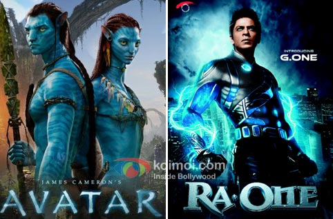 Avatar & Ra.One posters