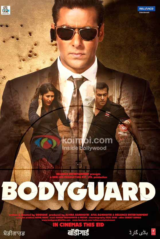Image result for bodyguard salman poster