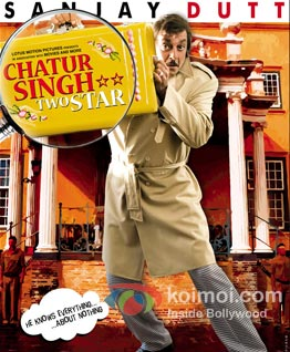 Chatur Singh Two Star Review (Chatur Singh Two Star Movie Poster)