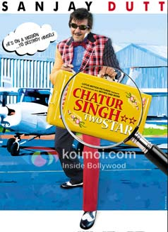 Sanjay Dutt in a still from Chatur Singh Two Star