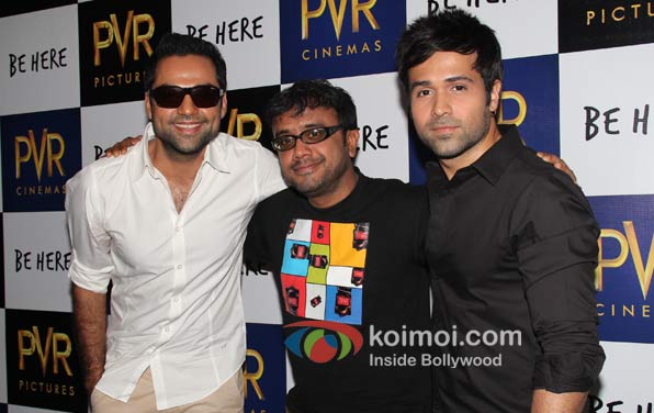 Director Dibakar Banerjee, Actors Abhay Deol and Emraan Hashmi
