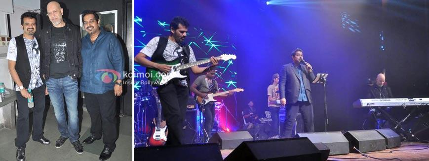 Ehsaan Noorani, Loy Mendonca, Shankar Mahadevan at Shankar Ehsaan Loy 15 years celebrations