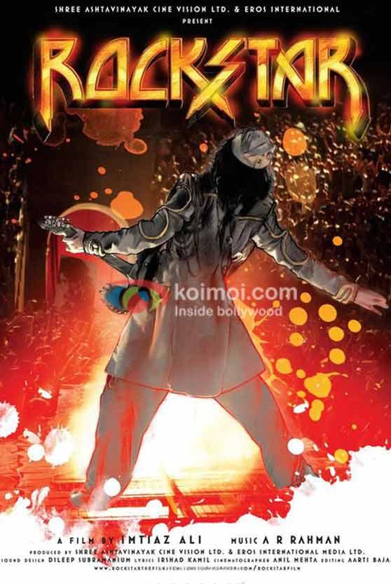 First Look of Ranbir Kapoor's Rockstar
