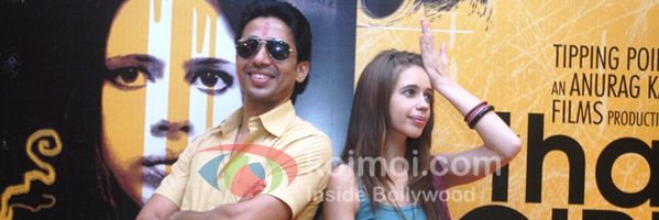 Gulshan Devaiyah and Kalki Koechlin promote That Girl In Yellow Boots