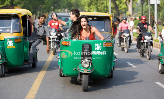 Imran Khan, Katrina Kaif Open Rickshaw Ride