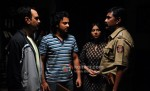 Manish Chaudhary, Adinath Kothare, Reema Worah (Stand By Movie Still)