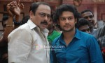 Sachin Khedekar, Adinath Kothare (Stand By Movie Still)