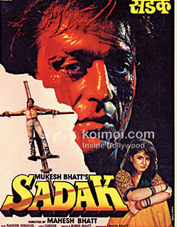 Sadak Weirdest Sanjay Dutt Roles