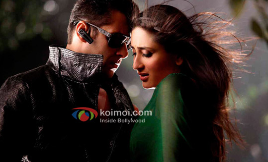Salman Khan, Kareena Kapoor Busy Promoting Bodyguard