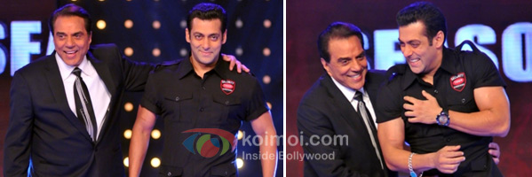 Salman Khan Plays Dharmendra Bodyguard