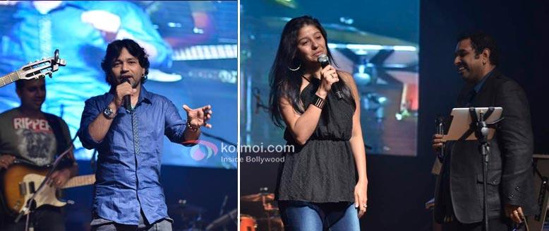 Kailash Kher, Sunidhi Chauhan at Shankar Ehsaan Loy 15 years celebrations