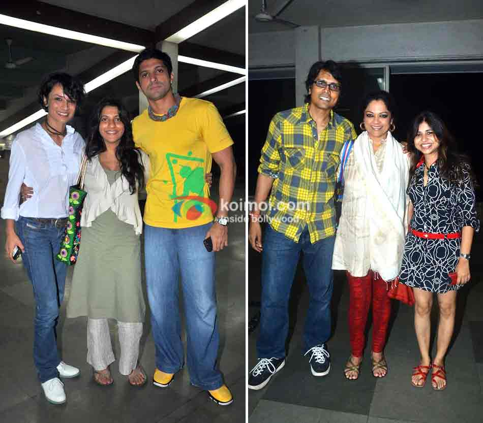 ADHUNA, ZOYA AND FARHAN Shankar Ehsaan Loy 15 years celebrations
