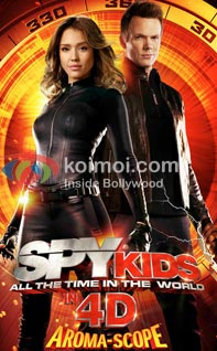 Spy Kids: All The Time In The World Review (Spy Kids: All The Time In The World Movie Poster)