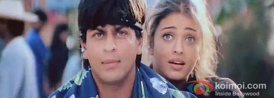 Aishwarya Rai – Shah Rukh Khan in Josh Movie
