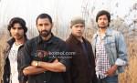 Vansh Bharadwaj, Ashish Nayyar, Kuldip Ruhil (Sahi Dhandhe Galat Bande Movie Stills)