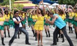 Ajay Devgan, Lisa Haydon, Sanjay Dutt (Rascals Movie Stills)