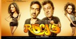 Lisa Haydon, Ajay Devgan, Sanjay Dutt, Kangana Ranaut (Rascals Movie Wallpaper)