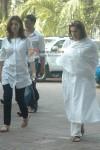 Akshay Kumar, Twinkle Khanna & Dimple Kapadia at Surinder Kapoor's Prayer Meet