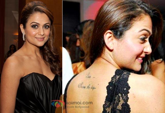 Amrita Arora Tattoo Photos