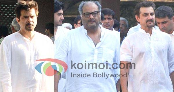 Anil Kapoor, Boney Kapoor and Sanjay Kapoor