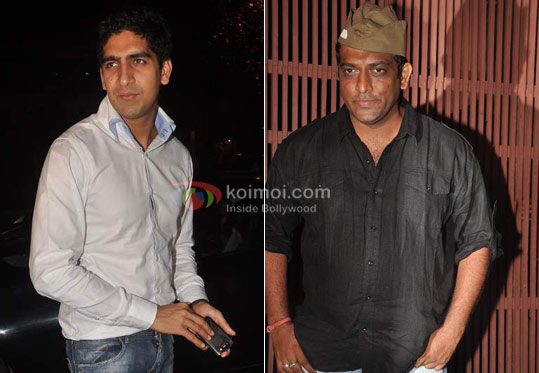 Ayan Mukerji, Anurag Basu at Ranbir Kapoor's birthday and 'Rockstar' bash