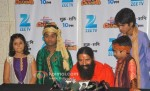 Baba Ramdev on the sets of Saregama Lil Champs