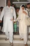 Boney Kapoor & Sridevi at Surinder Kapoor's Prayer Meet