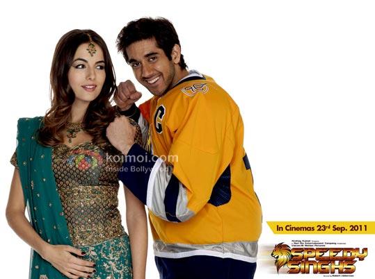 Camilla Belle, Vinay Virmani (Speedy Singh wallpaper) | Koimoi