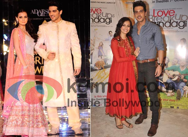 Dia Mirza, Zayed Khan Bollywood's Best/Worsed Dressed