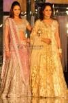 Esha Deol & Hema Malini Walk the Ramp for Neeta Lulla