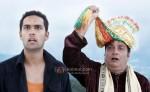 Jagrat Desai, Vinay Pathak (Tere Mere Phere Movie Stills)