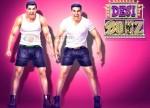 John Abhraham, Akshay Kumar (Desi Boyz Wallpaper)